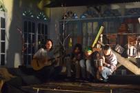 Pertunjukan musik dari Komunitas Gubuakkopi